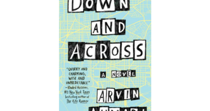 'Down and Across' is a lively YA debut starring a self-doubting teen and a crossword-puzzle lover