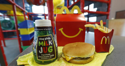 McDonald's tries to shake its junk food image by slimming down Happy Meal