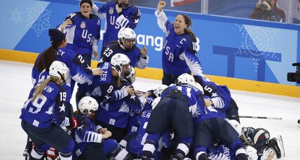 For first time in 20 years, US women's hockey takes gold