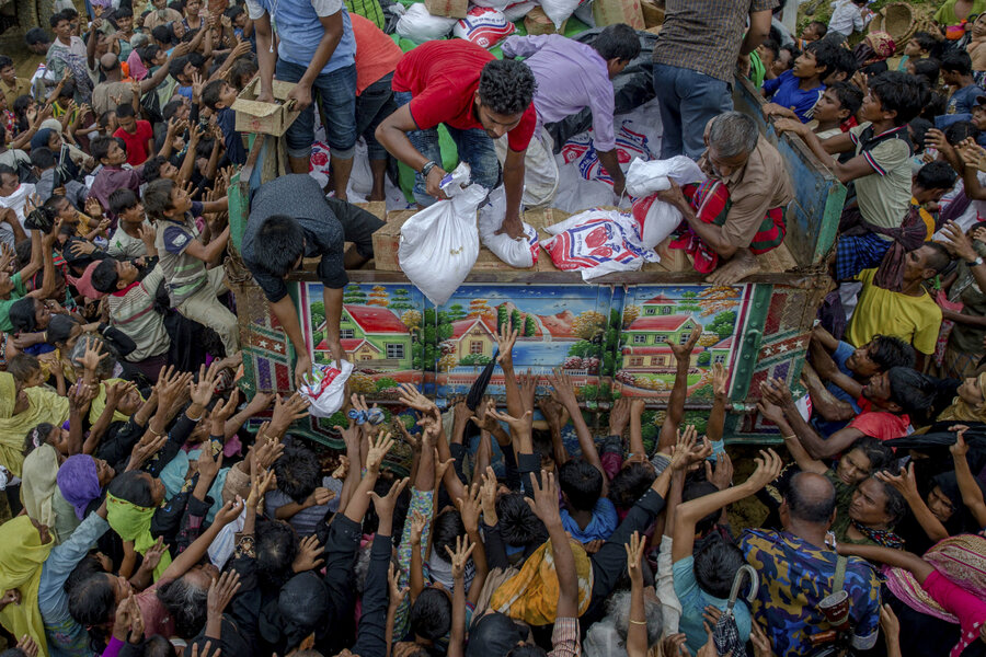 Image result for rohingya villages