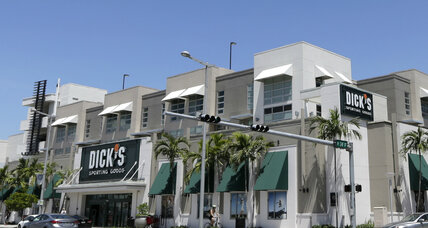 Dick's Sporting Goods ends sales of assault-style rifles