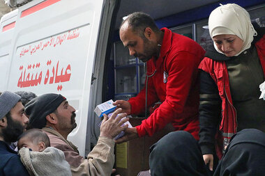 Why Syrians in besieged eastern Ghouta refuse to leave