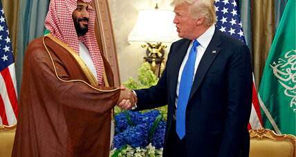 For Saudi crown prince, US visit falls on bad times, and good