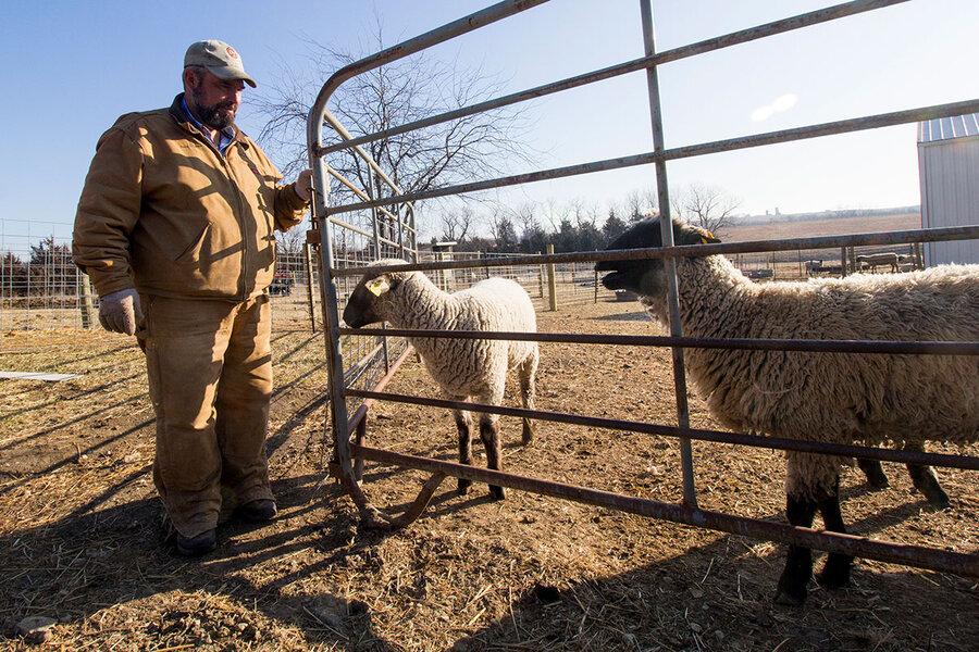On tariffs, many farmers break sharply with Trump