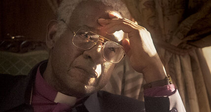 In 'The Forgiven,' Desmond Tutu faces off with a white separatist