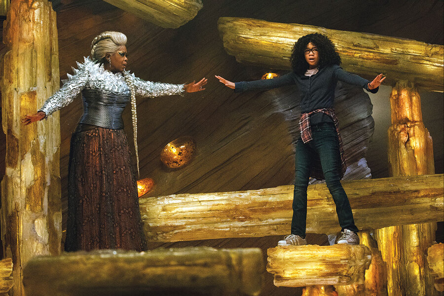 'A Wrinkle in Time' is more cheesy than transporting
