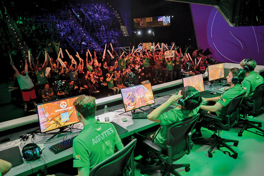 Here comes the esports revolution – are video gamers the Tom
