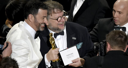 'Shape of Water' wins best picture as Oscars wrestles with change
