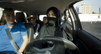 Saudi Arabia's women test newfound freedom behind the wheel