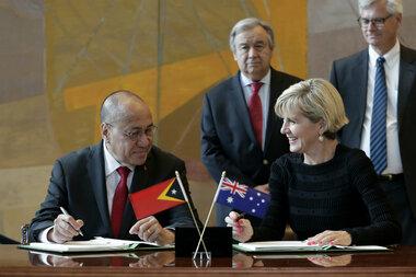Australia and East Timor reach historic international agreement