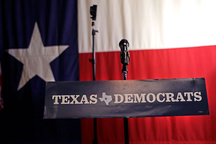 In Texas midterms, 'blue wave' may look more like a ripple