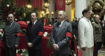Black comedies don't come much blacker than 'The Death of Stalin'
