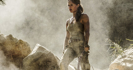 In 'Tomb Raider,' the chasms are not nearly so wide as the gaps in its plot