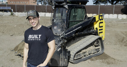 Autonomous vehicles break ground in construction industry