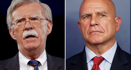 Bolton set to replace McMaster as Trump's national security adviser