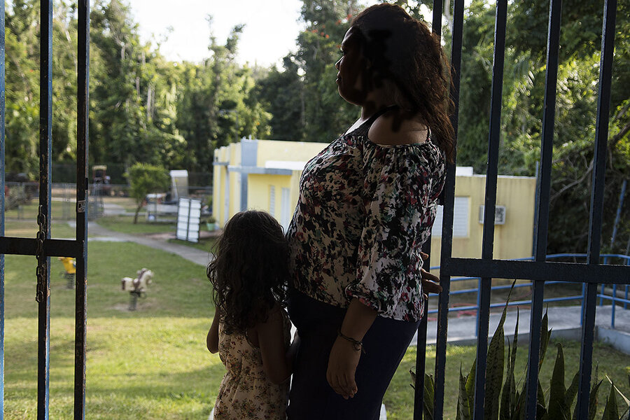 After hurricane María, a surge in domestic violence – and demands for change