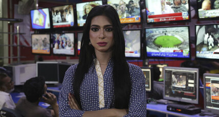 Pakistan's first transgender newscaster breaks barriers