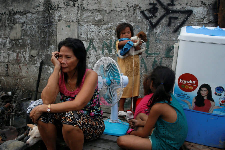 As climate change worsens, more Filipino women migrate ...