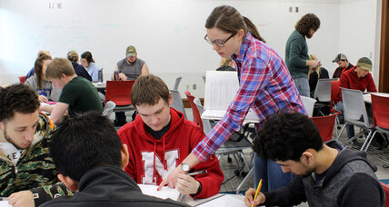 Math makeover: Colleges swap lectures for active learning