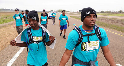 For teens, 50 mile march to honor King became a deeper journey