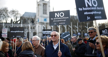 An old beast re-awoken, anti-Semitism stalks Europe, US once more