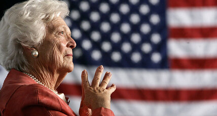 'A real rock:' The one-of-a-kind warmth and steel of Barbara Bush