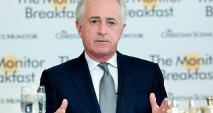 Why Bob Corker is bucking GOP tribalism, in a Tennessee tradition