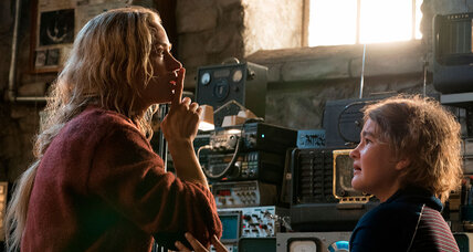 'A Quiet Place' is about a good deal more than scaring us