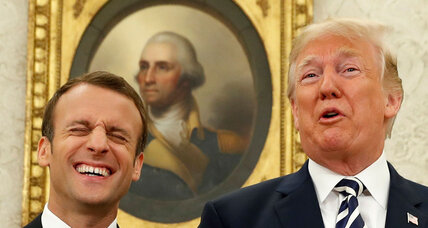 Trump-Macron: True partners, or just friends?
