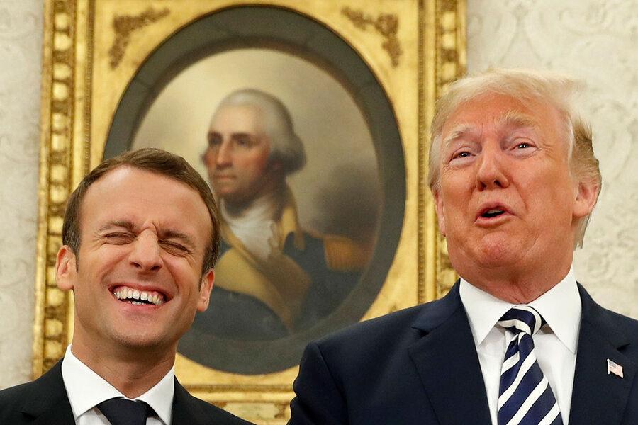 Trump-Macron: Is friendship built on shows of strength a true partnership?