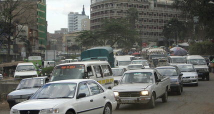 More people choosing to walk, instead of drive, in congested Nairobi