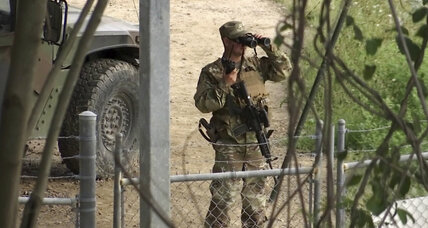 California agrees to send troops to Mexican border, but limits their scope