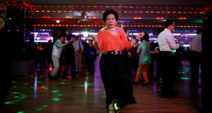 South Korea's elderly boogie, find connection in daytime discos