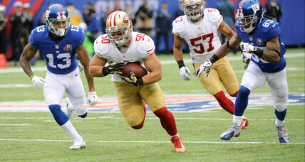 Former NFL player Chris Borland helps athletes and veterans adjust to retirement