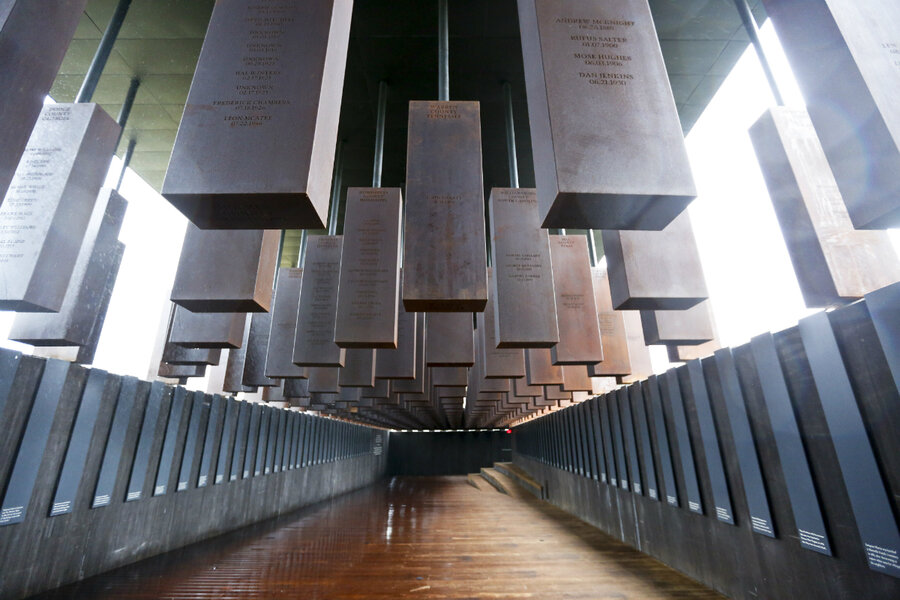 Memorial Addresses History Of Lynching In The Us