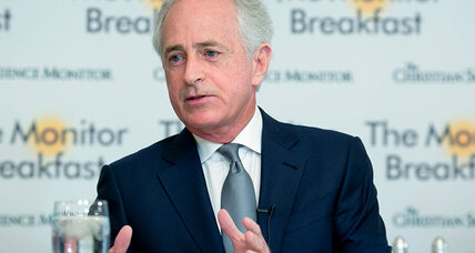 Bob Corker's relationship with President Trump: It's complicated