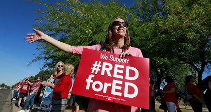 Arizona bands together to care for students during teacher strike