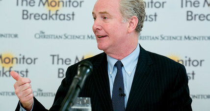 Van Hollen eyes 'blue wave' hopes, but midterm map is tough for Democrats