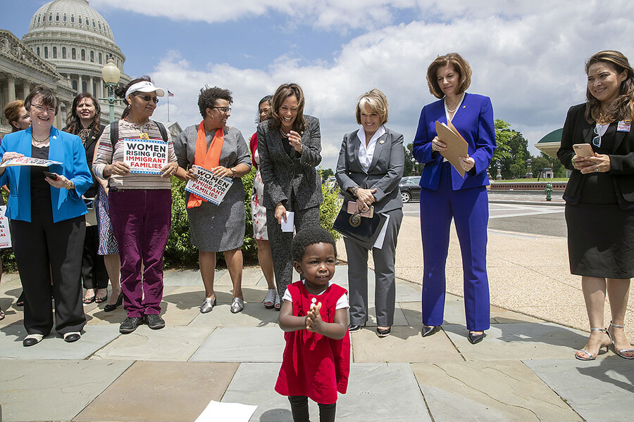 Detained Immigrant Children Bring Scrutiny To Trumps