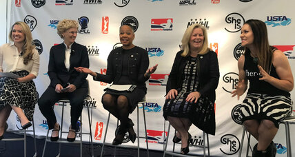 Women's sports leagues unite in SheIS initiative