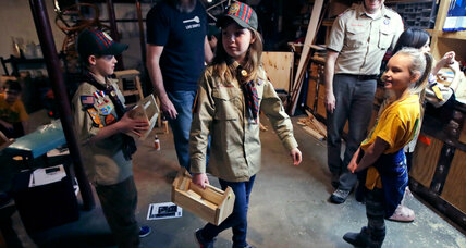 Boy Scouts program to change name as girls join ranks