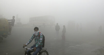 Indian inventors curb air pollution by turning exhaust into ink