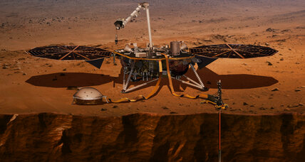 InSight spacecraft has a deep mission in Martian soil