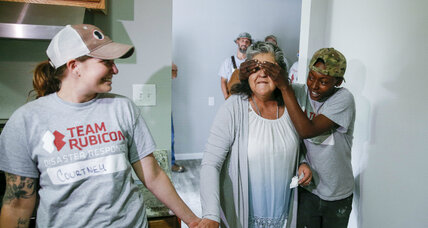 Veterans repair Harvey-flooded Houston homes