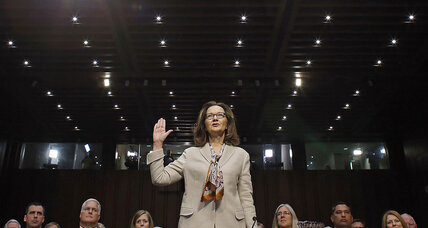 Haspel nomination clouded by her past – but also by today's context