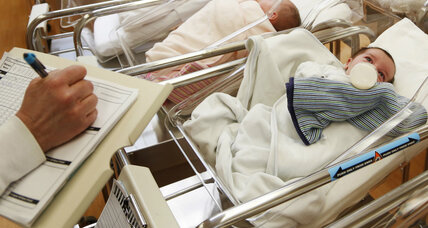 US birth rate declines to 30-year low