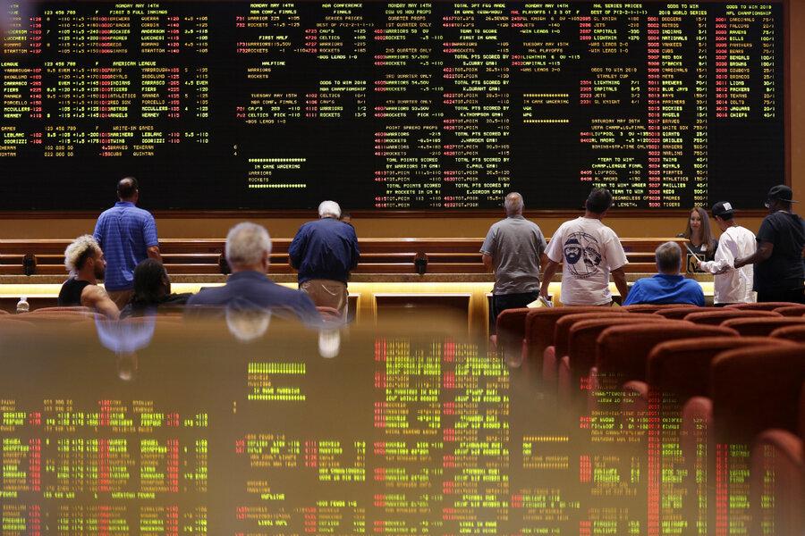 Sports betting gambling problem billboard advocare classic wisconsin alabama betting