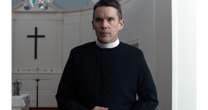 'First Reformed' charts a young priest's slide into ecoterrorism