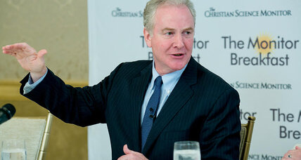 Why Chris Van Hollen isn't talking about a 'blue wave'