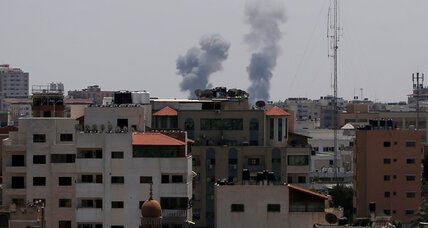 Gaza escalates attacks, Israel responds with airstrikes